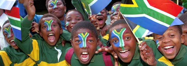 Happy Kids on one of our Cape Town Day  Tours