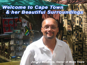 Johnny Maasdorp owner of Meljo Tours