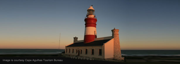 light house along the South African coast